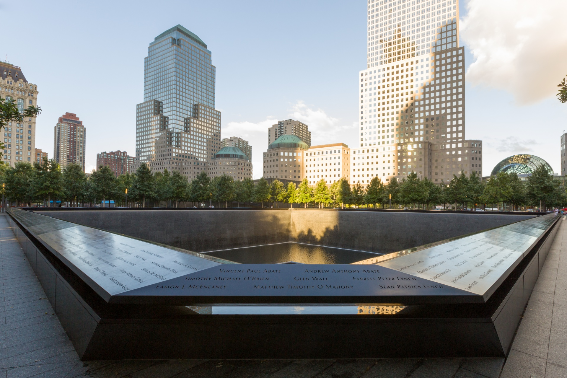 world trade center memorial new york city