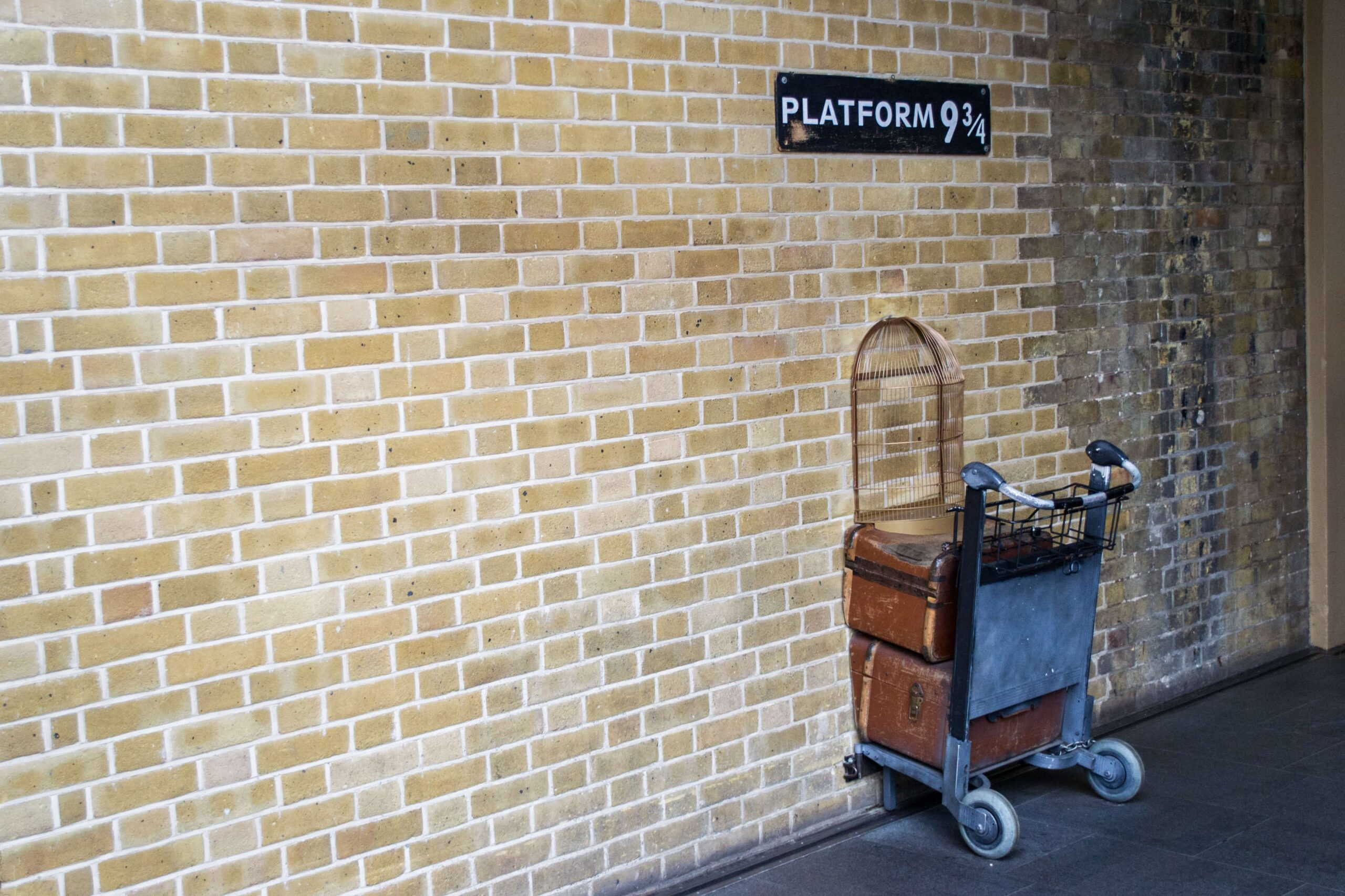 Kings Cross Station Platform 9 3⁄4